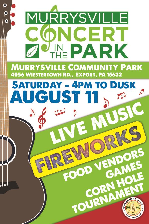 Murrysville Concert in the Park August 2018