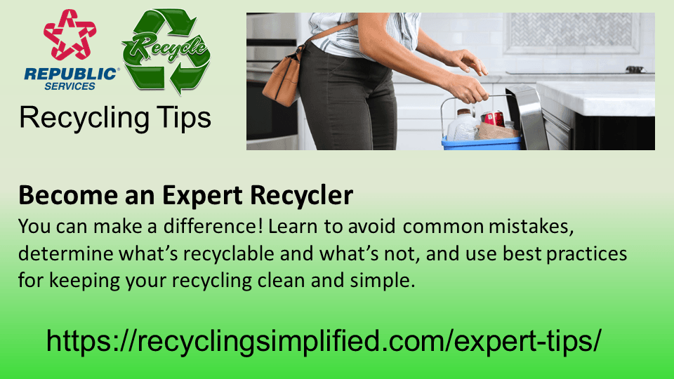 Recycle Tips Slide1
