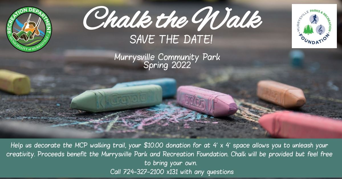 Chalk the Walk Save the Date