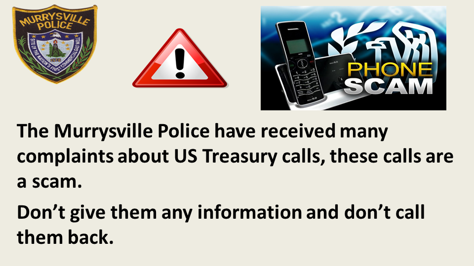 Phone Scam US Treasury Slide1